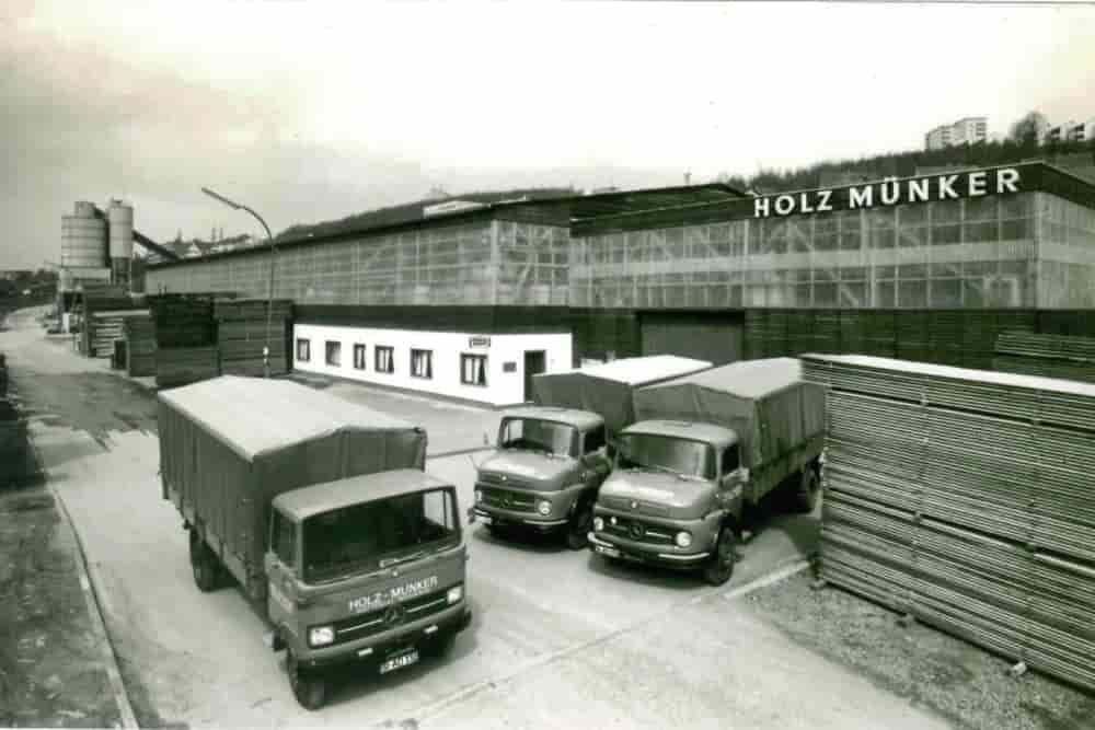 Holzhandel Holz Münker seit 1968