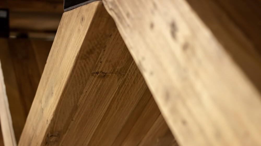 Massivholz Tisch Unterkonstruktion Holz Ideenwelt Freudenberg