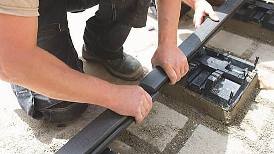 Megawood fixstep Aufbau Unterkonstruktion Terasse