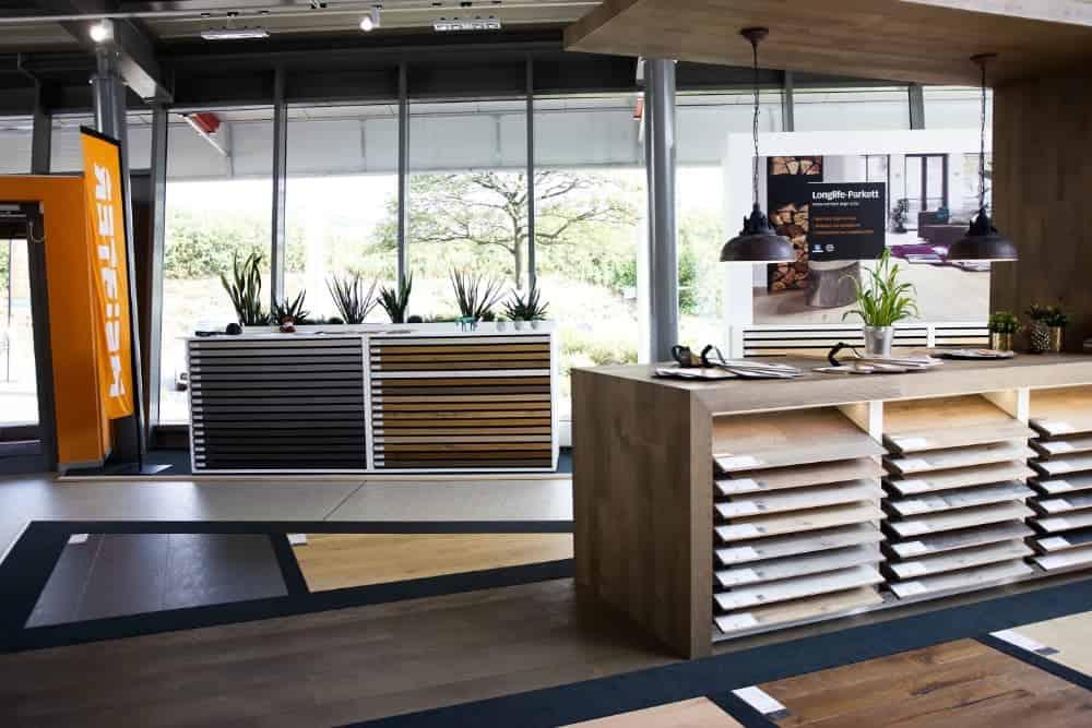 Meister Designböden Ausstellung Holz Idenwelt Freudenberg
