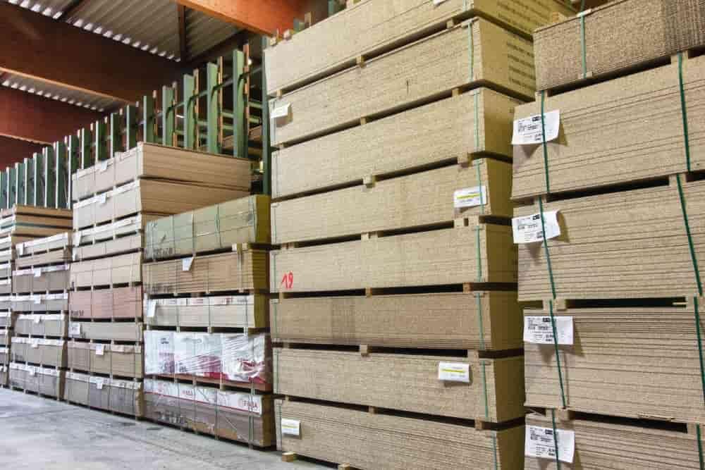 Plattenwerkstoffe Lager Münker Holzhandel Siegen