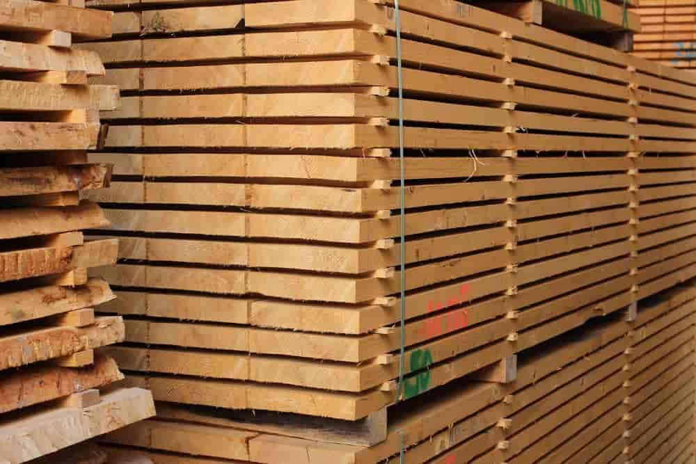 Schnittholzlager Holzhandel Holz Münker Birlenbach