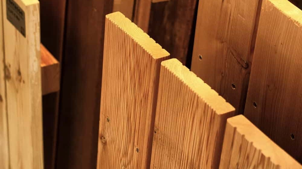 Terrassendiele Ausstellung Holz Münker