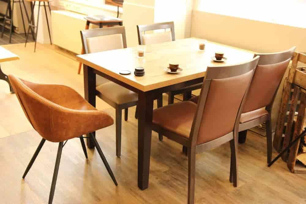WDesign Objekteinrichtung Gastronomie Ausstellung Holz Münker