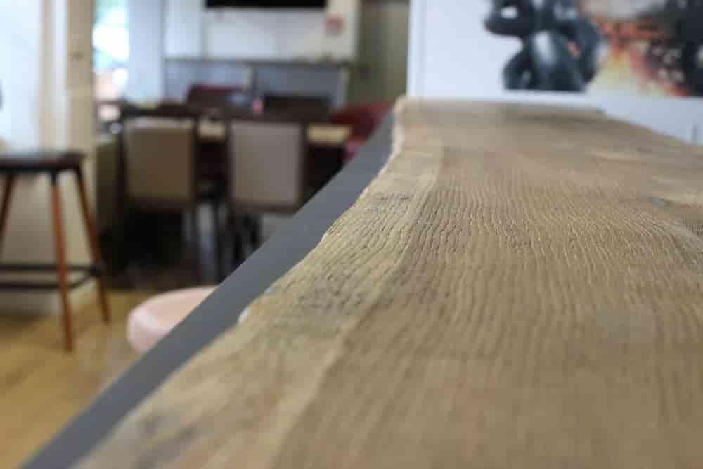 WDesign Tresen Ausstellung Holz Münker