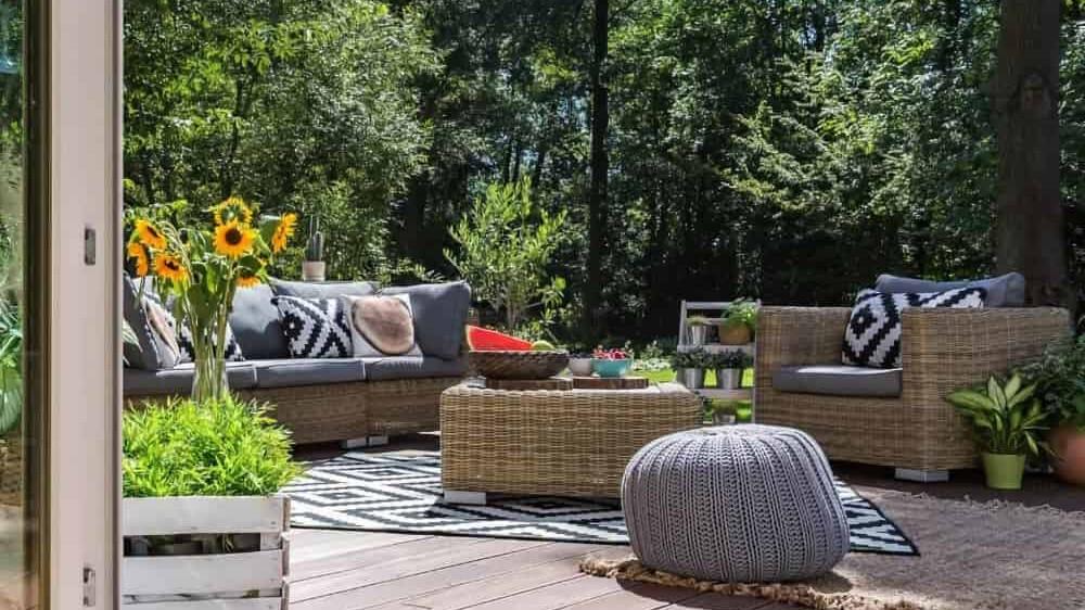 Wohnterrasse Terrassendielen Garten